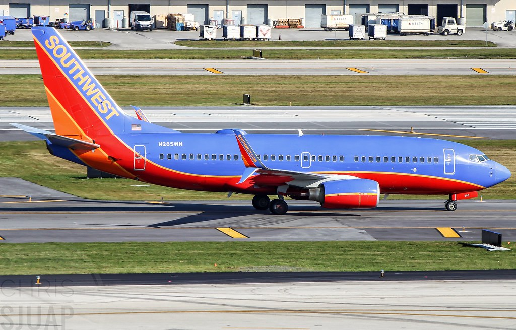 Southwest Airlines/Boeing 737-7H4(WL)/N285WN