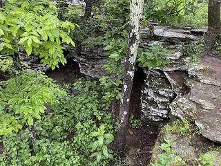 Openings below ledge