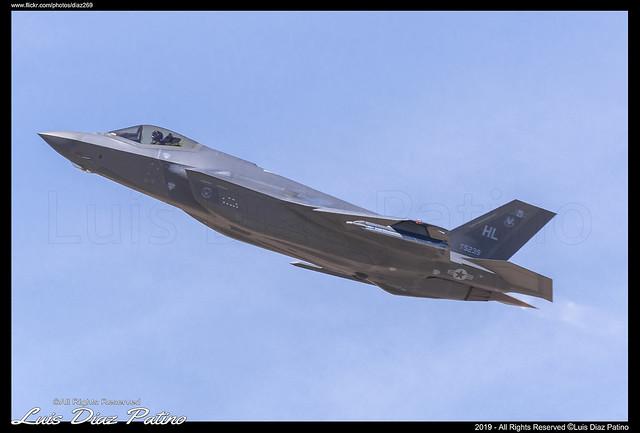 USAF Lockheed Martin F-35A LEAB