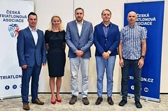 Českou triatlonovou asociaci povede nadále Antonín Bauer