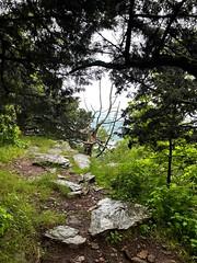 Mountain climbing overlook