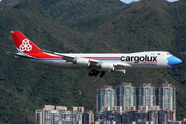 Cargolux (CV-CLX) / 747-8R7F (SCD) / LX-VCF /
