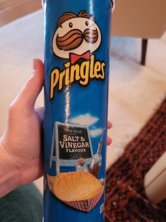 Salt and Vinegar Pringles