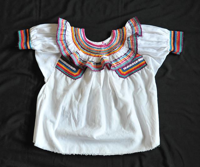 Mexico Clothing Blouse Maya Chiapas