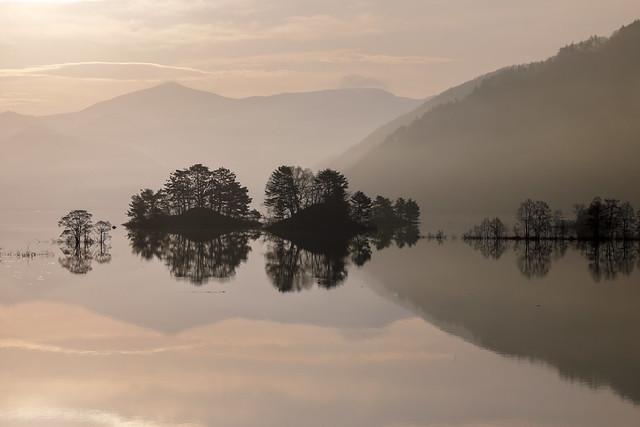 Reflections in Lake Akimoto