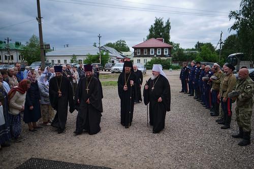 11 июня 2021, Всенощное бдение в Переяславле