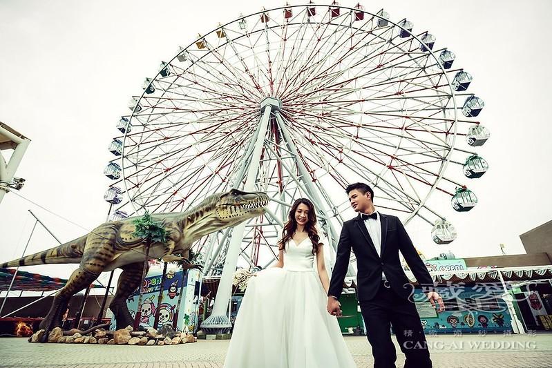 摩天輪拍婚紗