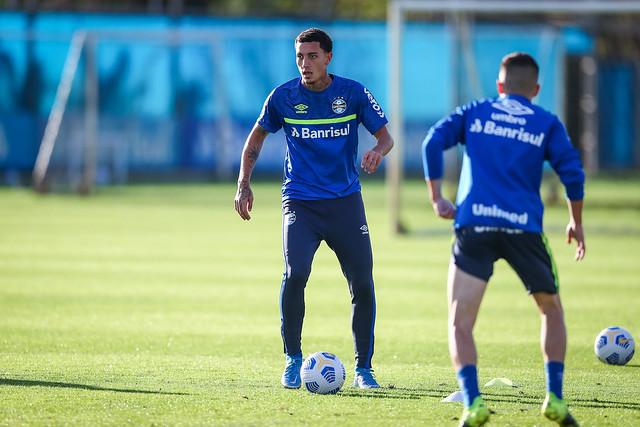 Treino Grêmio 11/06/2021