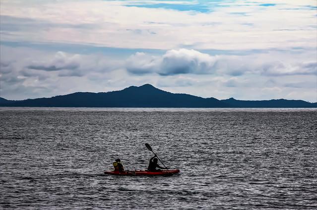 Ocean Paddling to Serenity