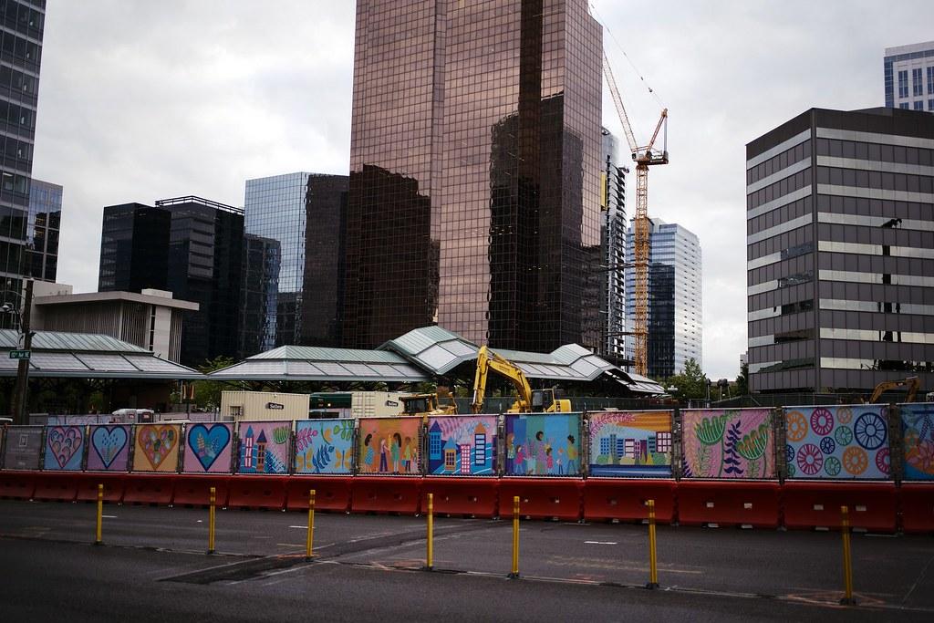 Bellevue constructions