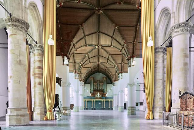 Interieur Grote St Jacobskerk