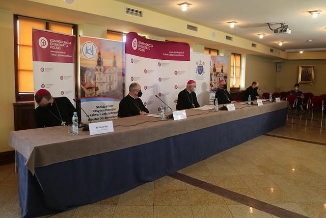Konferencja Prasowa - 389. Zebranie Plenarne KEP - 11 czerwca 2021 r.