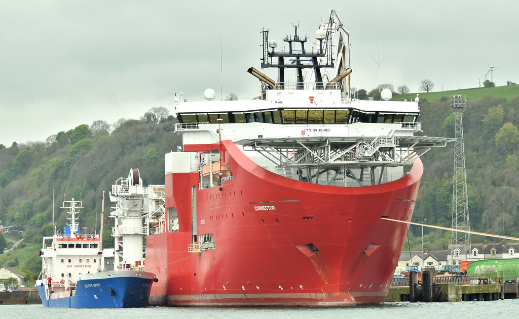 Mersey Spirit and Connector, Larne