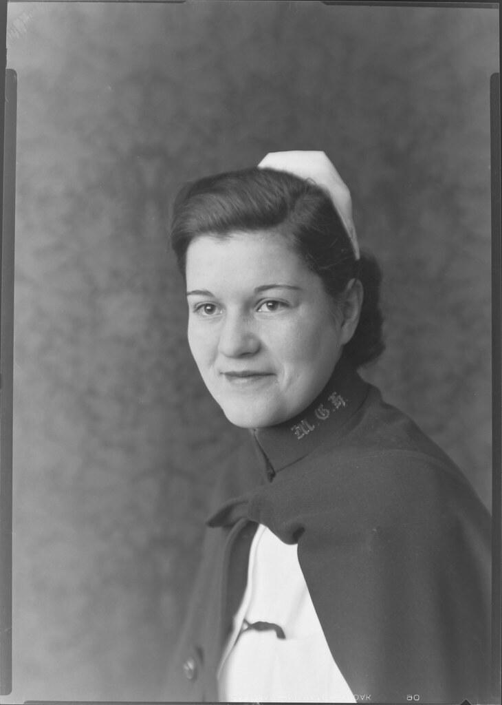 Marjorie Grace Corbin, circa 1936