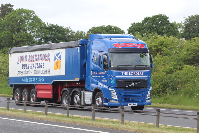 PX17 BXV Seen on the A66 at Appleby, 9th June 2021.