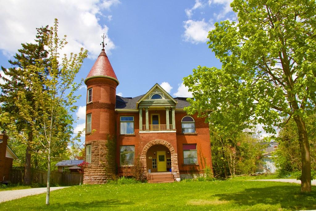 Stratford Ontario ~ Canada ~ Heritage Architecture Mansion  ~ Turret Romanesque