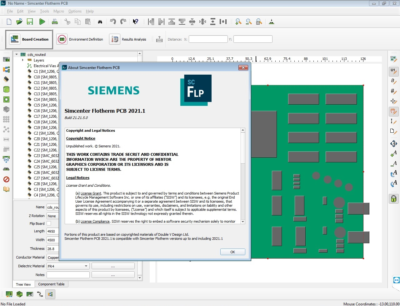 Working with Siemens Simcenter FloTHERM PCB 2021.1.0 full