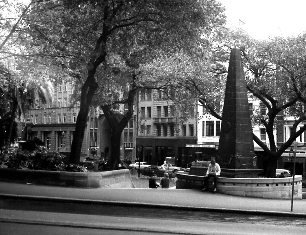 70-8 Macquarie Place, Sydney, Australia 1970