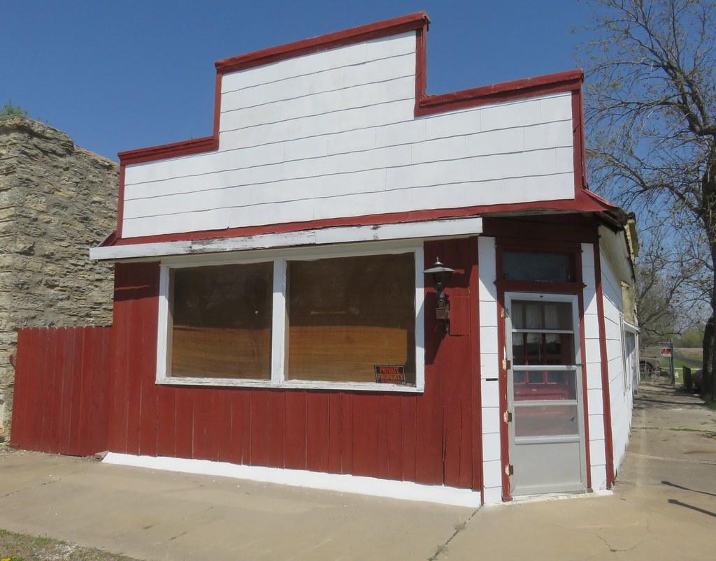Old Storefront Building (Beaumont, Kansas)