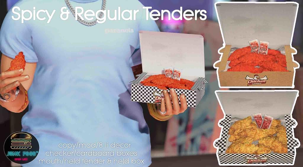Junk Food – Chicken Tenders Ad