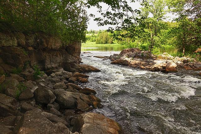 At The Bottom Of Blakeney Falls