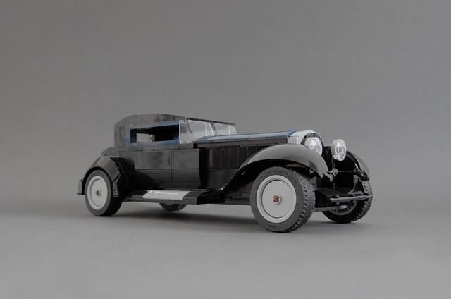 Time travel device set to 1932: Bugatti Type 41 Kellner & Cie.