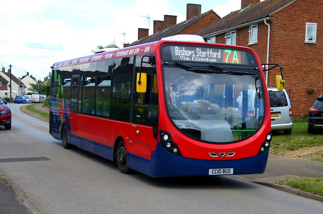 Weekend Wanders: Trustybus (ex Tower Transit WV46111) Wright Streetlite DF 10.8m CC10BUS (formerly SN64CVR) Mountfitchet Road Stansted Mountfitchet 12/06/21