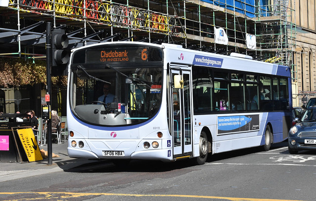 First Glasgow Volvo B7RLE 69119 Route 6