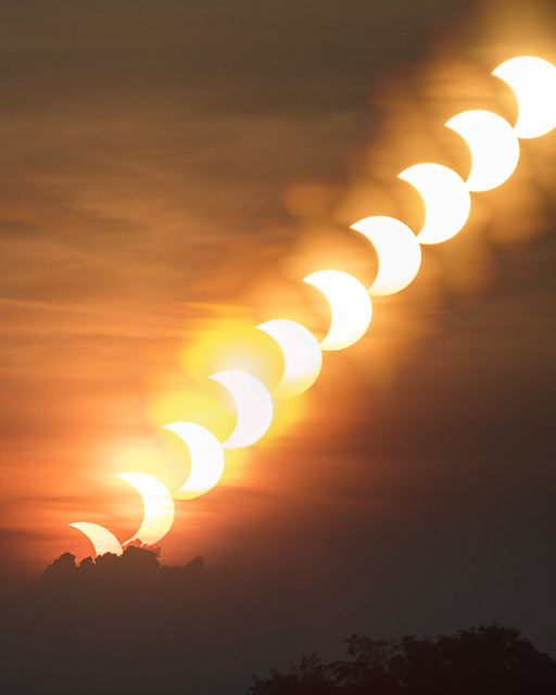The Rise of the Eclipsed Sun