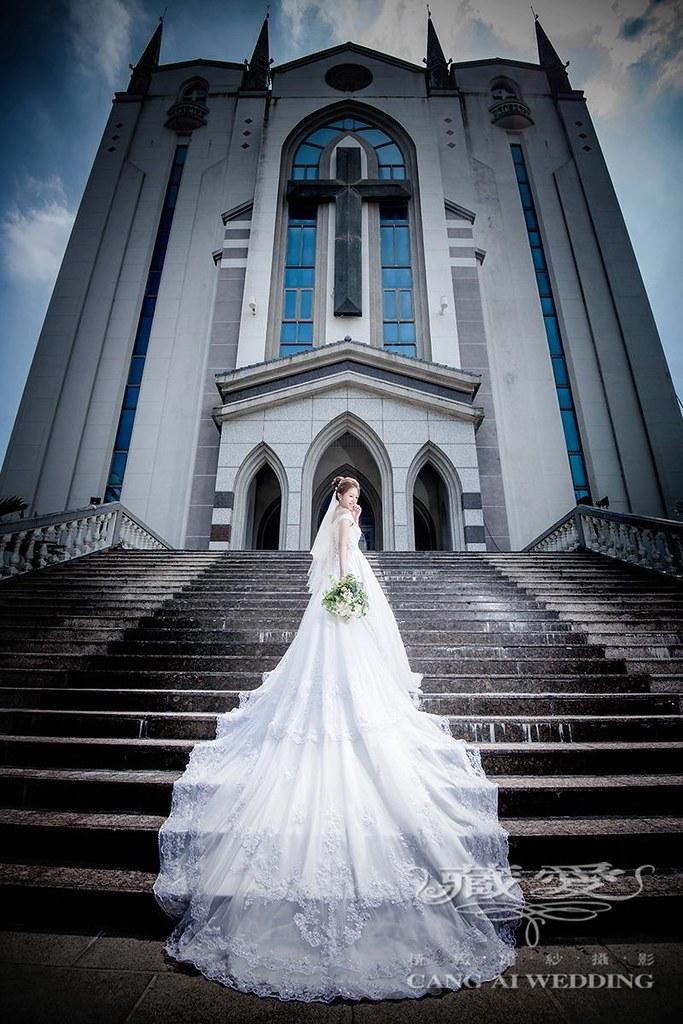 教堂拍婚紗