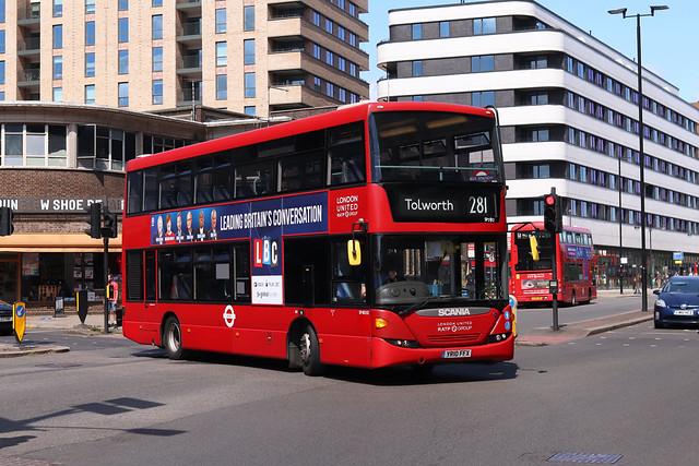 Route 281, London United, SP40192, YR10FFX