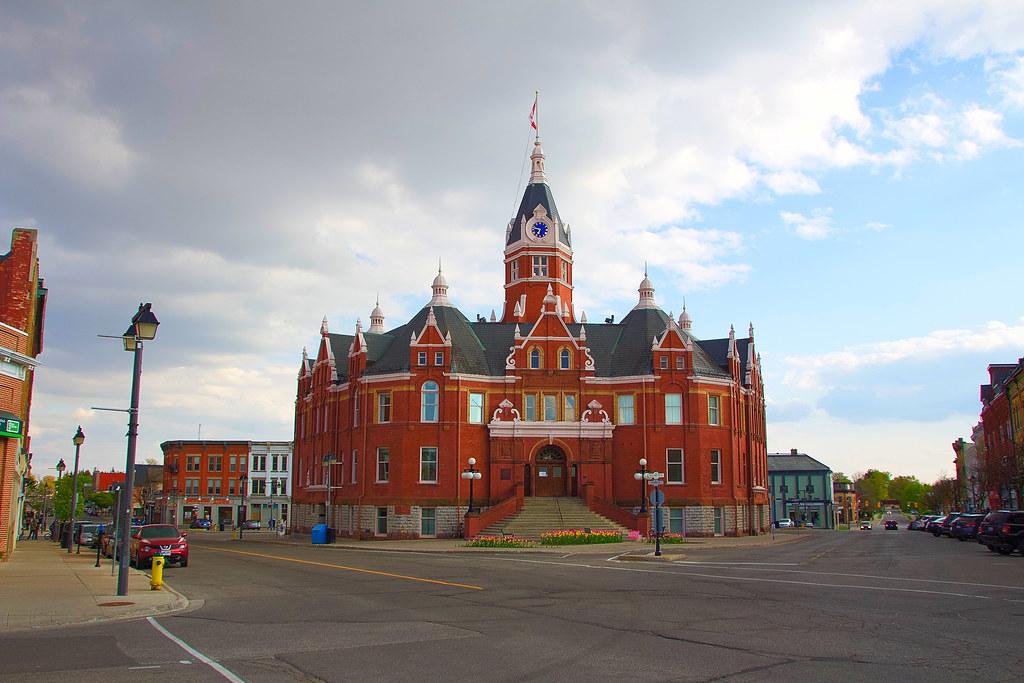 Stratford Ontario ~ Canada ~ Stratford City Hall -  National Historic Site of Canada