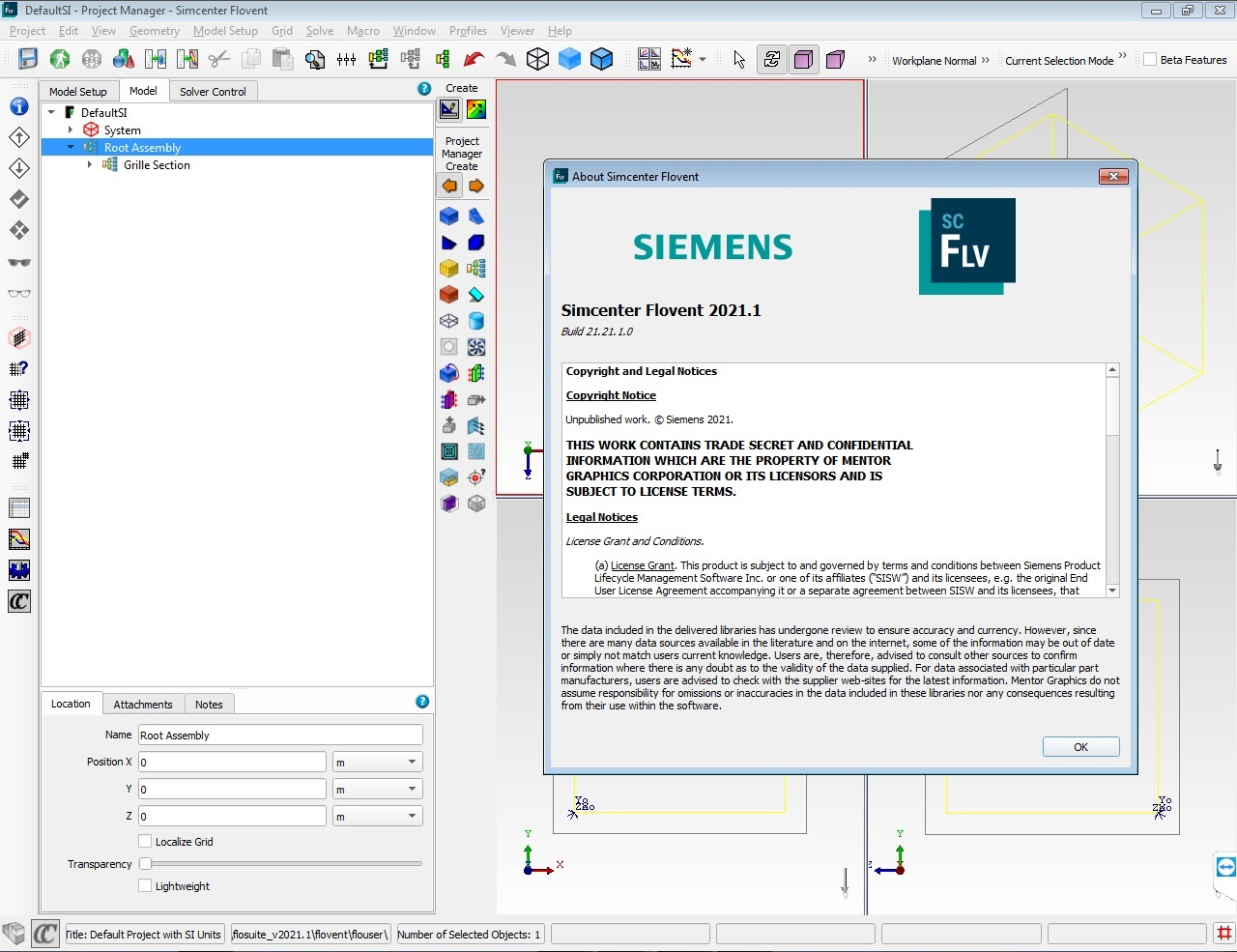 Working with Siemens Simcenter FloVENT 2021.1.0 full license
