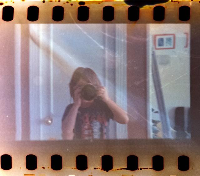 Selfie on film
