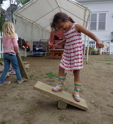 she invented a balance board