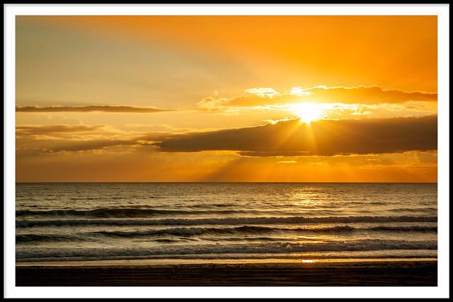 Perfect sunrise.