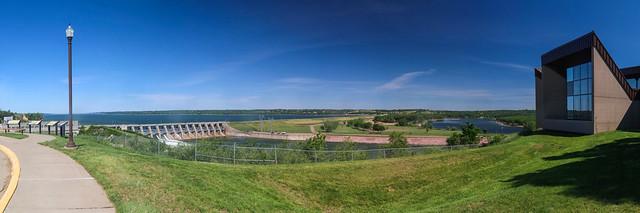 Panorama at Gavins Point Dam - Explored