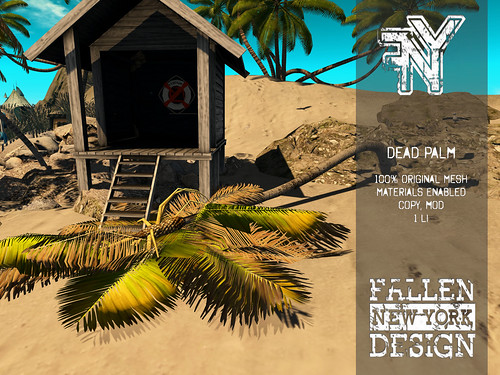 FNS Designs - Dead Palm Tree