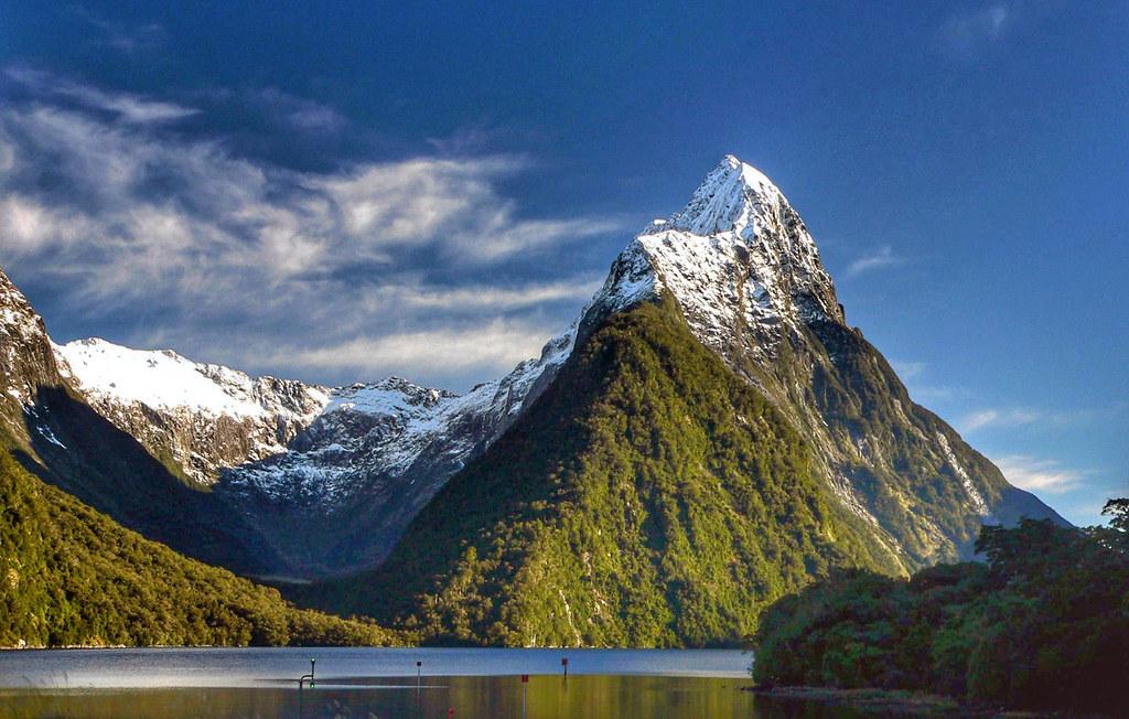 Mitre Peak. New Zealand.
