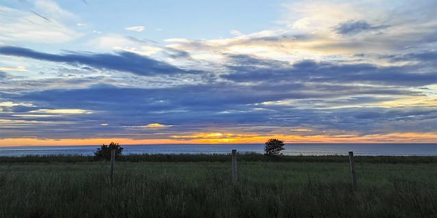 Morning Breaks Over Thorntonloch Beach