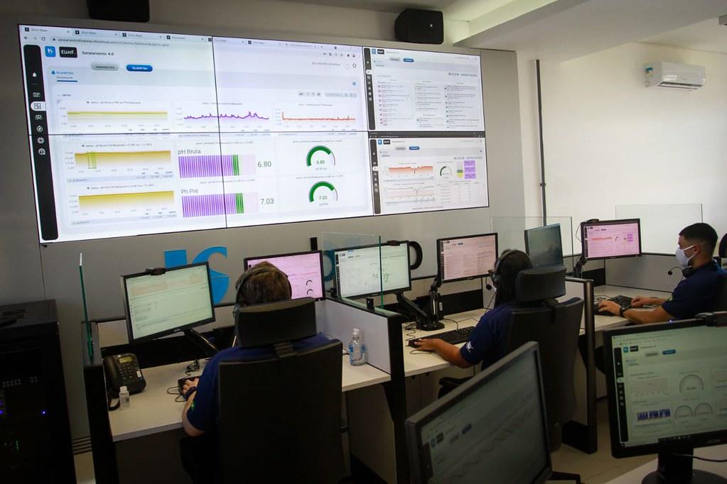 Inauguração do Centro de Inteligência e entrega do Receptor e Reservatório da Sabesp em Itatiba