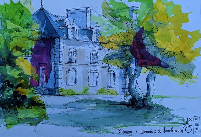Plouay - Domaine de Manehouarn