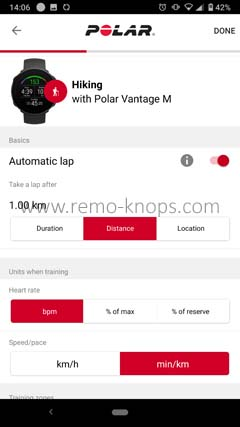 Polar Flow App for Google Android 140633