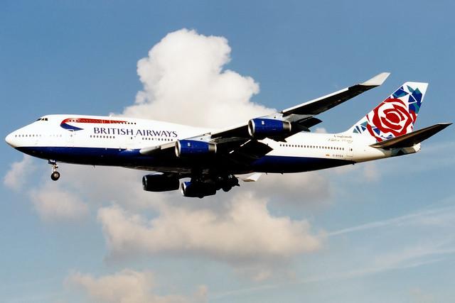 British Airways | Boeing 747-400 | G-BYGA | Chelsea Rose | London Heathrow