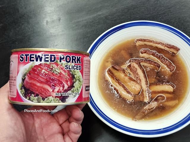 Mei Hua Stewed Pork Sliced 梅花牌红烧扣肉