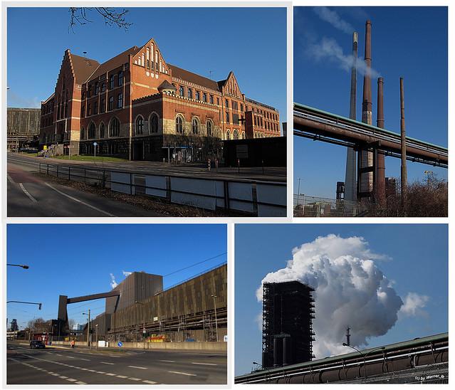 Duisburg Marxloh - ThyssenKrupp Steel - Old Headquarters