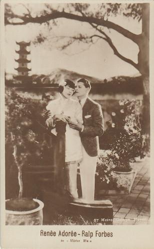 Renée Adorée and Ralph Forbes in Mr. Wu (1927)