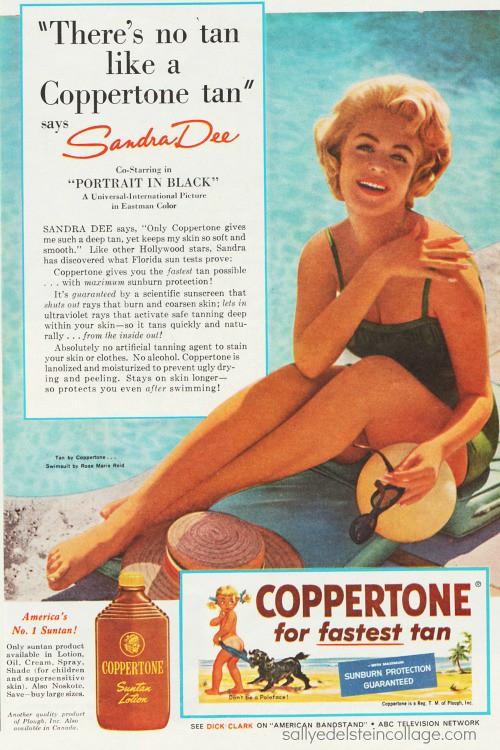 1960 Coppertone Sandra Dee