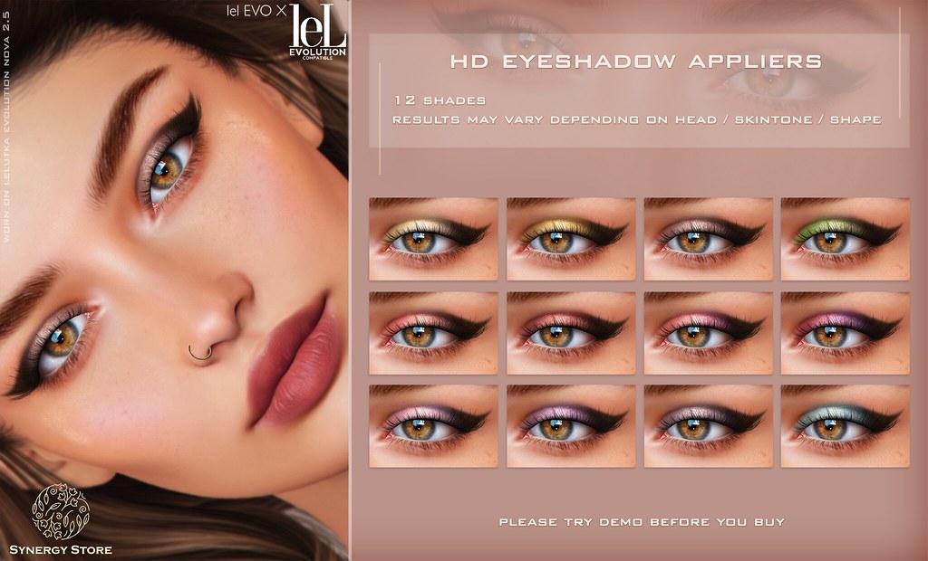 Synergy – Lelutka HD Eyeshadow Applier for EVO/EVO X heads – Seville♥