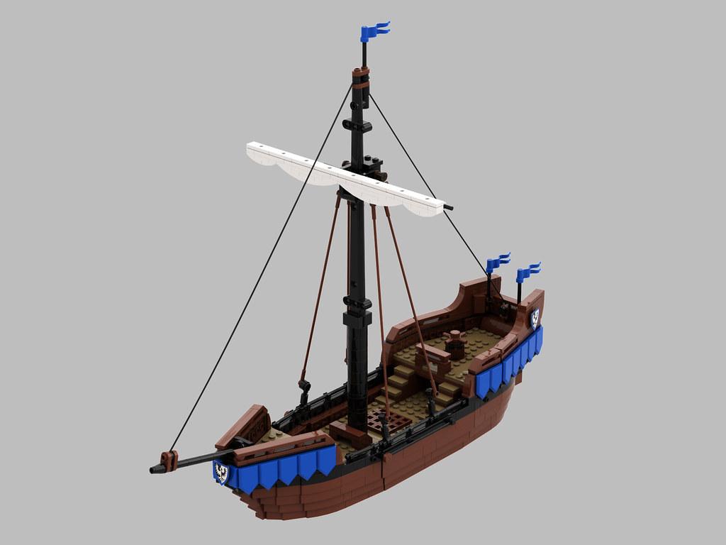 Black Falcons Ship MOC